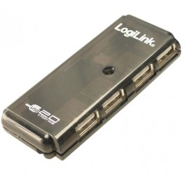 HUB 4 PUERTOS USB 2.0 LOGILINK UH0001A - Inside-Pc