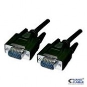 CABLE VGA HDB15/M-HDB15/M, 5.0 M NANOCABLE - Inside-Pc