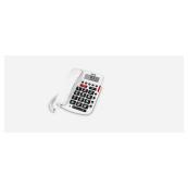 TELEFONO SPC 3293B COMFORT VOLUME BLANCO marca SPC INTERNET - Inside-Pc