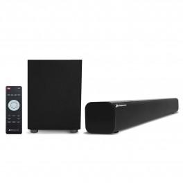 KIT BARRA DE SONIDO BLUETOOTH + SUBWOOFER WIRELESS PHOENIX PHSBBTWSUB 25W+18W - USB - RADIO FM - LINE-IN - SUB-OUT - SUBWOOFER A