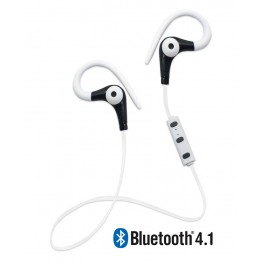 Running Earphones Sports Bluetooth + Micro Biwond Blanco - Inside-Pc