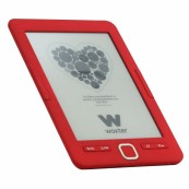 "E-BOOK WOXTER SCRIBA-195 6"" 4GB E-INK ROJO - Inside-Pc"