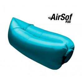 Sofá hinchable AirSof Plus Azul - Inside-Pc
