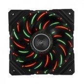 VENTILADOR GAMING ENERMAX DF VEGAS DUO 12 CM PWM LUCES LED ROJO VERDE MODDING ANTIPOLVO - Inside-Pc