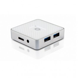 HUB USB 3.0 CONCEPTRONIC 4 PUERTOS MINI HUB POCKET - Inside-Pc