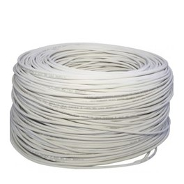 CABLE UTP CAT5+ ESPECIAL EXTERIOR BLANCO BOBINA 250M - Inside-Pc