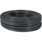 BOBINA CABLE 100M CAT.6 RÍGIDO AWG24 EXTERIOR NEGRO NANOCABLE - Inside-Pc