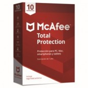 ANTIVIRUS MCAFEE TOTAL PROTECTION 2018 10 DISPOSITIVOS - Inside-Pc