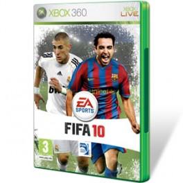 JUEGO XBOX 360 - FIFA 10 seminuevo