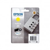 CARTUCHO ORIGINAL EPSON 35 DURABRITE AMARILLO - Inside-Pc