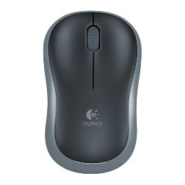 MOUSE LOGITECH WIRELESS M185 OPTICO GRIS 2.4GHZ