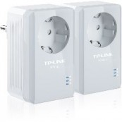 PACK X2 ADAPTADORES DE RED LINEA ELECTRICA 500MBPS POWER LINE TP-LINK