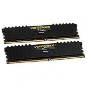 MEMORIA RAM DDR4 16GB KIT 2X8GB CORSAIR VENGEANCE - PC4-25600 - 3200MHZ - C16 NEGRO - Inside-Pc