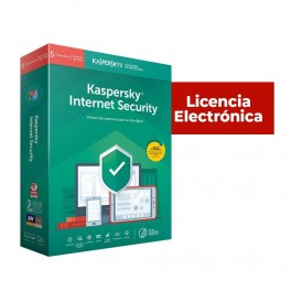 ANTIVIRUS ESD KASPERSKY INTERNET SECURITY 5 Users Renewal Electronic License - Inside-Pc