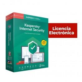 ANTIVIRUS ESD KASPERSKY INTERNET SECURITY 5 USUARIOS RENOVACION LICENCIA ELECTRONICA - Inside-Pc