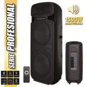 "Altavoz Autoamplificado PRO500 2x15"" 1500W Serie PRO COOLSOUND - Inside-Pc"