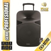 "Altavoz Autoamplificado 15"" 700W - Bateria - Bluetooth - Serie PRO COOLSOUND - Inside-Pc"