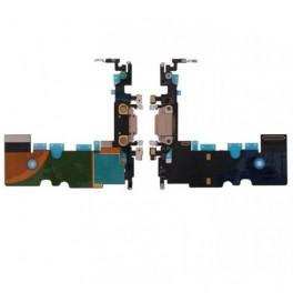 Repuesto Compatible Apple Cable Flex Carga iPhone 8 Negro - Inside-Pc