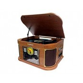 CD PLAYER TURNTABLE - CASSETE - BLUETOOTH - SUNSTECH PXRC52CD ANALOG CONVERTER - Inside-Pc