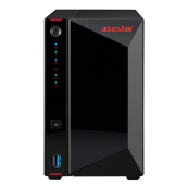 SERVIDOR NAS ASUSTOR 0TB 2 BAY - INTEL J4005 DC - 2GB - MAIL SERVER - USB3.2 - HDMI - Inside-Pc