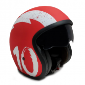 Repuesto Casco Moto Jet Sunra Rojo Talla S - Inside-Pc
