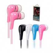 Auriculares CoolSound Urban Rosa - Inside-Pc