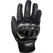 Guantes Tactiles Antideslizantes Moto Negro Talla L - Inside-Pc