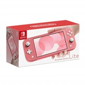 CONSOLA NINTENDO SWITCH LITE CORAL - Inside-Pc