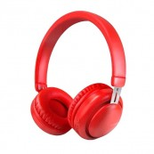 Auricular Bluetooth XO BE10 Rojo - Inside-Pc