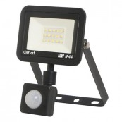 LED Spotlight ELBAT Slim Series 10W Motion Sensor 6500K Black - Inside-Pc