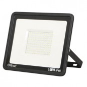 LED Spotlight ELBAT Slim Series 100W 6500K Black - Inside-Pc