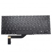 Repuesto Apple. Teclado Apple MacBook A1398 Negro - Inside-Pc