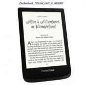 "LECTOR E-BOOK LIBRO ELECTRONICO POCKETBOOK LUX 5 - 6"" TACTIL - 512MB - 8GB - E-INK NEGRO - Inside-Pc"