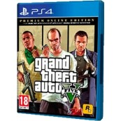 Game SONY PLAYSTATION PS4 GRAND THEFT AUTO V GTA PREMIUM EDITION - Inside-Pc