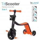 Patinete 3-en-1 Biwond TriScooter Naranja - Inside-Pc