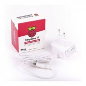 CARGADOR RASPBERRY 5.1V MICRO USB-C 3A BLANCO - Inside-Pc