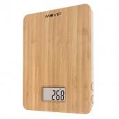 Bascula de Cocina Digital Bamboo MUVIP - Inside-Pc