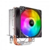 Disipador CPU Multisocket Mars Gaming MCPUARGB - 9cm - Inside-Pc