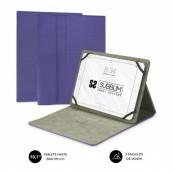"""Funda Subblim Clever Stand para Tablets de 10.1"""" - Purpura - Inside-Pc"""