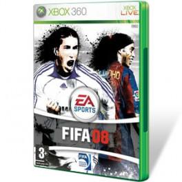 JUEGO XBOX 360 - FIFA 08 seminuevo