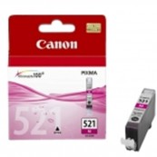 CARTUCHO TINTA CANON CLI 521M MAGENTA 9ML PIXMA 3600/ 4600/ 4700/ MP540/ 550/ 560/ 620/ 630/ 640/ 980/ MX860/ 870 - Inside-Pc