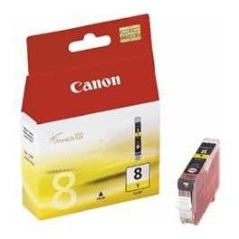 CARTUCHO TINTA CANON CLI 8 AMARILLO 8ML PIXMA 4200/ 5200/ 6600/ MP500/ 800 - Inside-Pc
