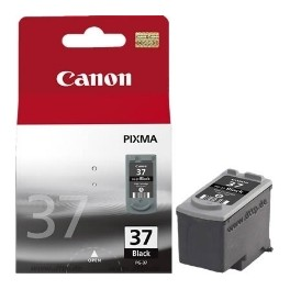 CARTUCHO TINTA CANON PG 37 NEGRO 11ML PIXMA 1800 - Inside-Pc