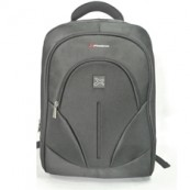 "MOCHILA PORTATIL PHOENIX OXFORD DE 15.6"" HASTA 17.3"" / NETBOOK HASTA 12"" / TABLET HASTA 10"" NYLON PHOENIX NEGRO - Inside-Pc"