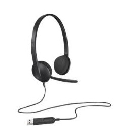 AURICULARES CON MICROFONO LOGITECH HEADSET H340 - Inside-Pc