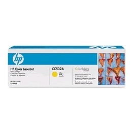 TONER HP CC532A AMARILLO 2800 PAGINAS CM2320/ CP2025 - Inside-Pc