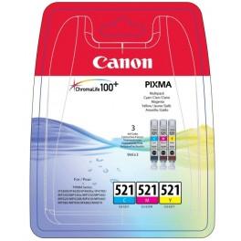 CARTUCHO CANON CLI-521 3 COLORES - Inside-Pc