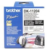PAPEL ETIQUETAS PRECORTADAS 17X54MM BROTHER - Inside-Pc