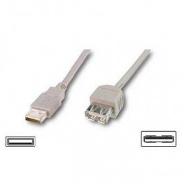 CABLE USB 2.0 A(M) - A(H) 3 M - Inside-Pc