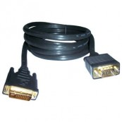 CABLE DVI-M-VGA-M 2M BLISTER - Inside-Pc
